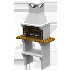 Malaga Barbacoa de ladrillo